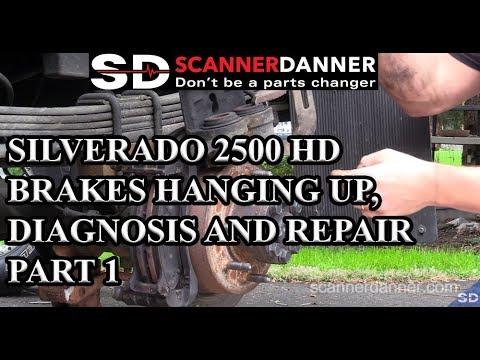 Silverado 2500 HD Brakes Hanging Up, Diagnosis and Repair Part 1