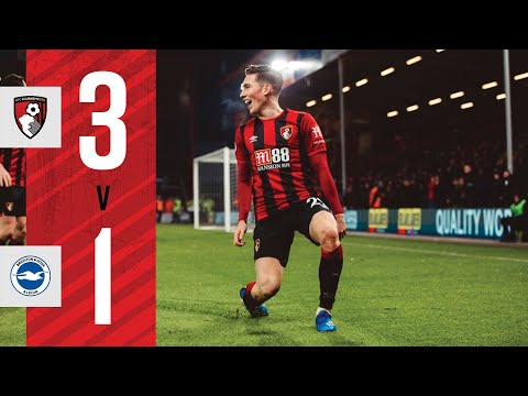 CRUCIAL WIN ON THE SOUTH COAST 🙌 | AFC Bournemouth 3-1 Brighton
