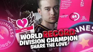 WORLD RECORD SHARE THE LOVE - DIVISION CHAMPION | DUO AVEC AIRWAKS