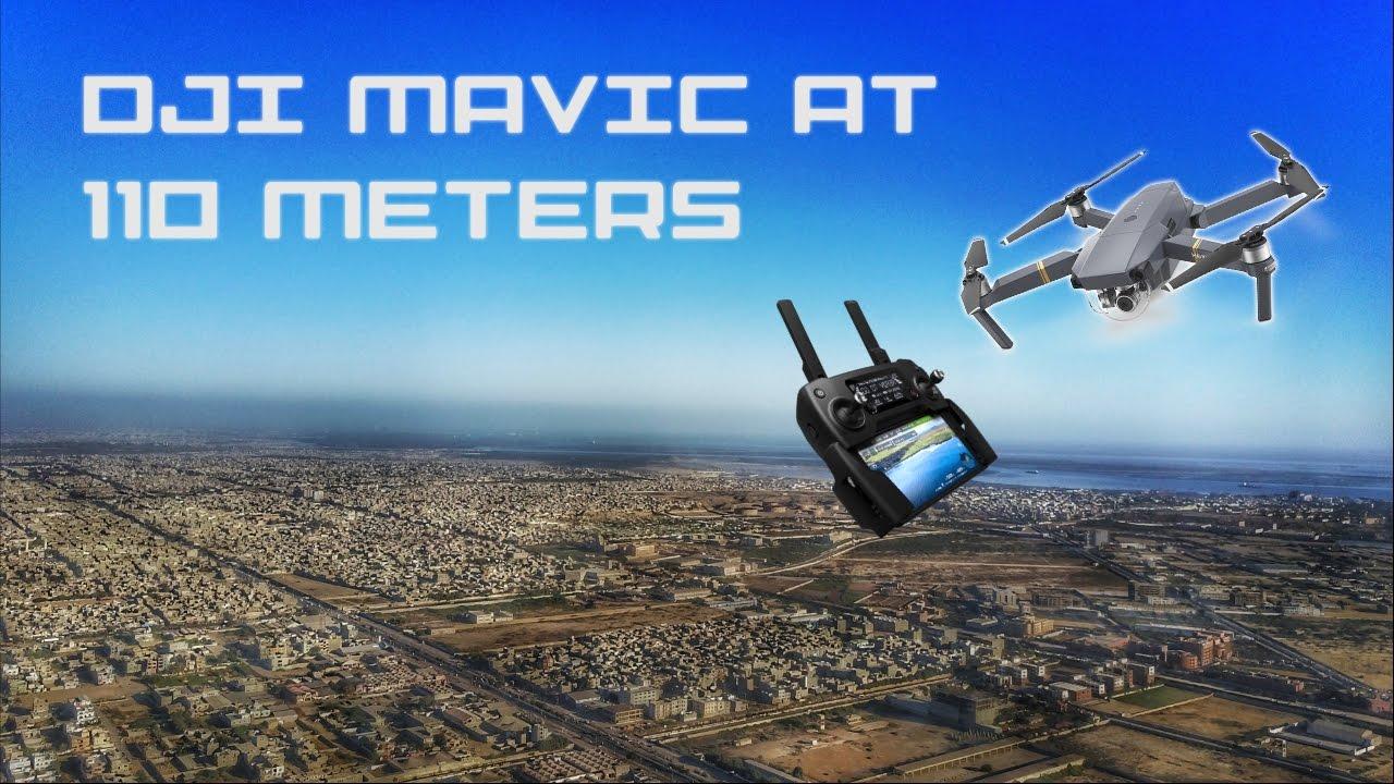 DJI Mavic Pro Flight to Highest Set Altitude