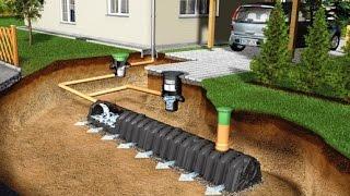 видео Дренажная система на основе линейного водоотвода  |