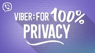 Only on Viber: 100% Privacy You Can Trust thumbnail