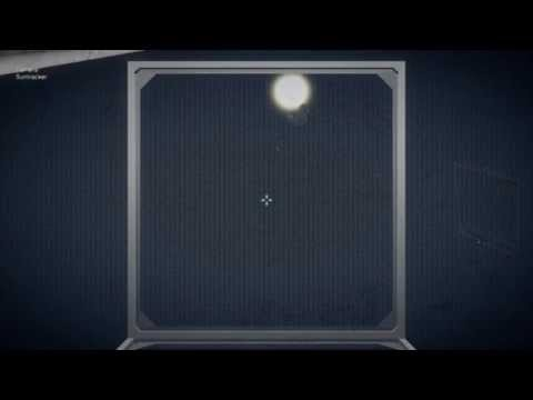 Space engineers - Solar Panel Tracker