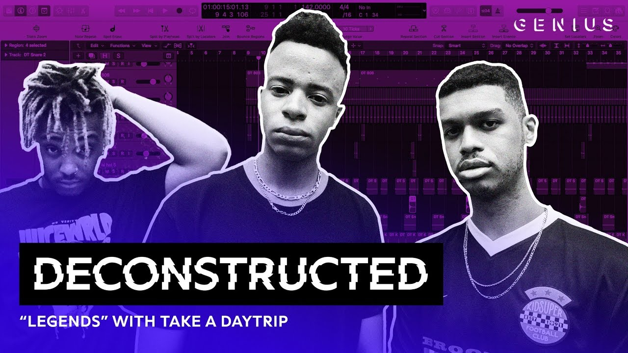 "The Making Of Juice WRLD's ""Legends"" With Take A Daytrip 