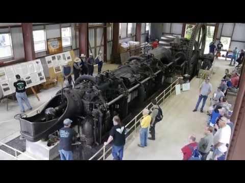 SNOW,gasengine,Start,Gasmaschine,stationary engine,Coolspring power museum