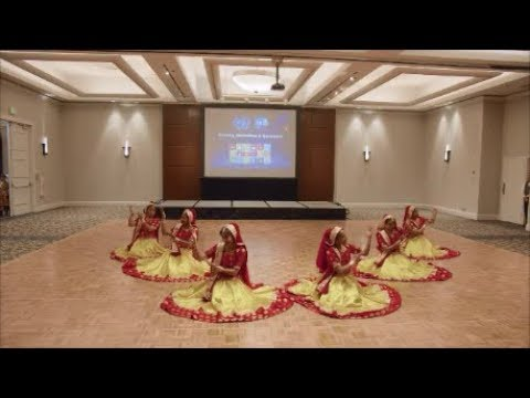 AHSA World Gala Night 2019: Ghoomar by students of The Legends of Bollywood, April 28, 2019