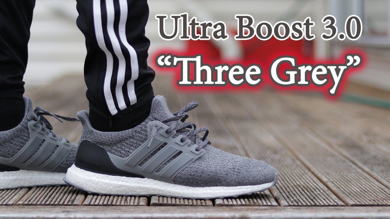 0a7d1b97aeb Adidas Ultra Boost 3.0  Three Grey