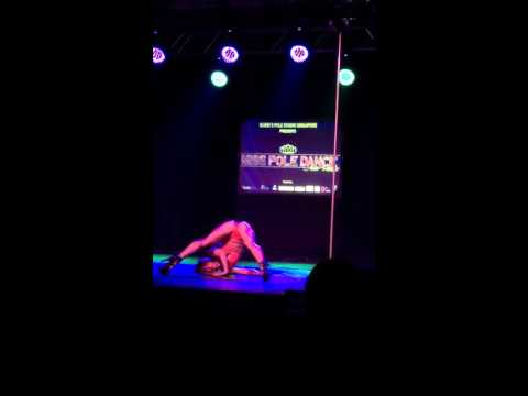 Miss Pole Dance Asia Pacific 2015 Judge Fontaine Bradbury