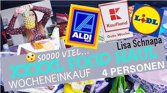XXXL FOOD HAUL | KAUFLAND | ALDI | LIDL | WOCHENEINKAUF | ANGEBOTE | KASSENZETTEL KONTROLLE😳 | MÄRZ