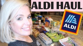 ALDI HAUL 2018 | * healthy groceries on a budget * | GLENDA
