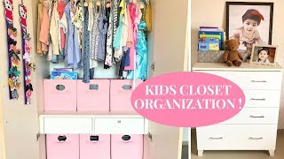 KIDS CLOSET ORGANIZATION ON BUDGET | 2018 | INDIA | Rented apartment