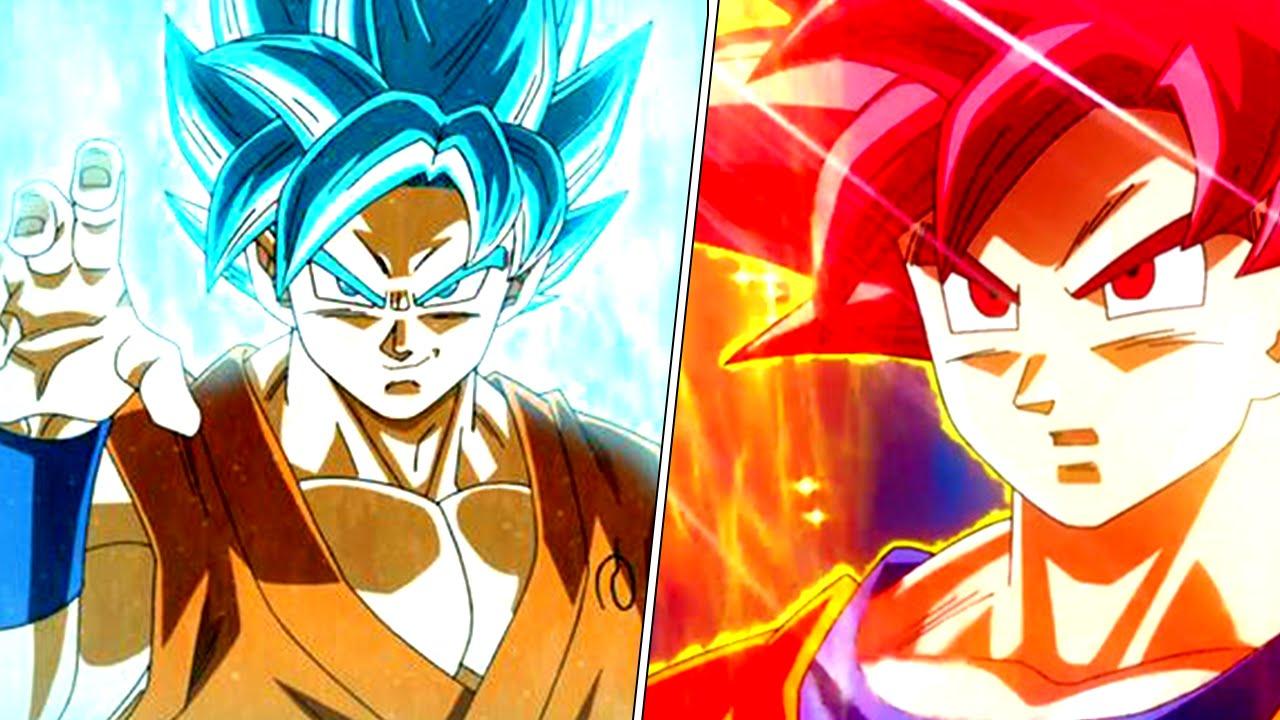 Super Saiyan God STRONGER Than Super Saiyan God Super Saiyan ...