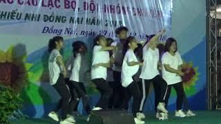 Múa tập thể Hiện đại /Cực đều/ do Nhà VH thiếu nhi Long Khánh biểu diễn