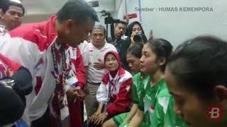 SEA Games 2017   Merasa Dicurangi Wasit, Timnas Putri Sepak Takraw Indonesia Memutuskan WO saat Fina