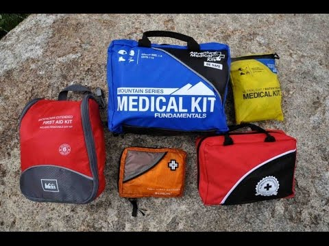 Ultralight First Aid Kit for Pack Hikes