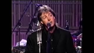 Paul McCartney - Penny Lane (Up Close TV show 1992)