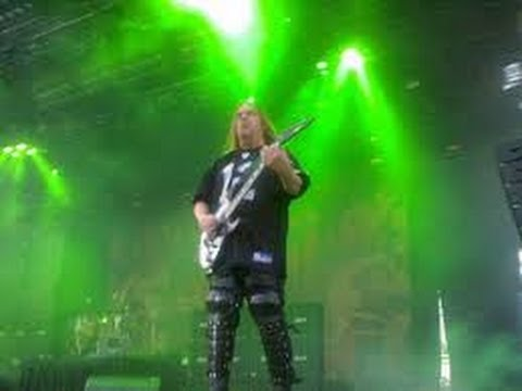 SLAYER GUITARIST KILLED BY ALCOHOLIC CIRRHOSIS OF LIVER. JEFF HANNEMAN 49
