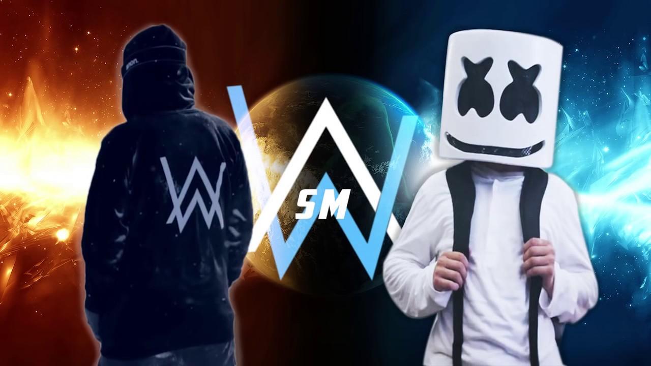alan walker vs marshmallow quem e o melhor youtube