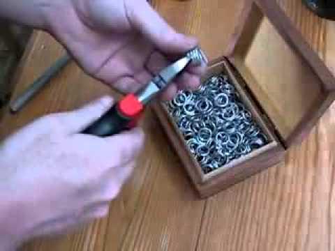 Как плетут кольчуги 73