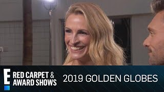 "Julia Roberts Jokes ""E! Exclusive: I'm Done With Film!"" 