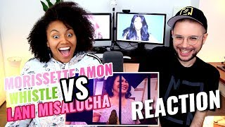Lani Misalucha VS. Morissette Amon - Whistle Battle | The Clash Version | REACTION