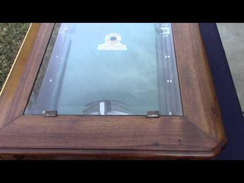 Vintage ABT Billiard Practice Trade Stimulator Target Gun Skill Game
