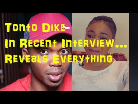 Tonto Dike Cries In Interview, Talks About Her Marriage Crisis