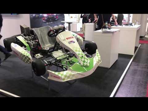 Das Elektrokart von Mach1 und Bosch Motorsport
