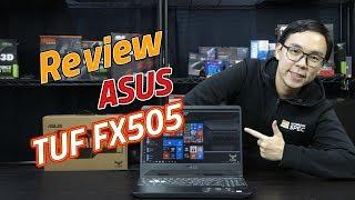 Review – ASUS TUF Gaming FX505 เกมมิ่งโน้ตบุ๊คไซต์เล็ก แต่สเปคไม่เล็กนะครับ เริ่ม 27,990 บาท