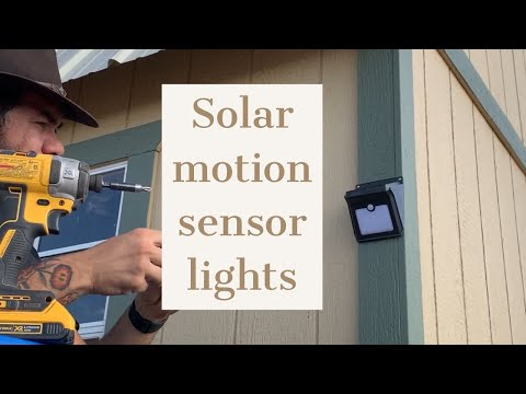 installing-solar-motion-sensor-lights---home-security-[prep-365:-ep102]