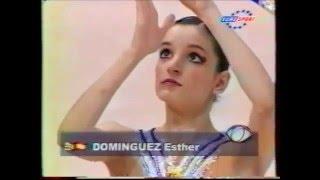 Esther DOMINGUEZ (ESP) hoop - 2000 Europeans Zaragoza EF
