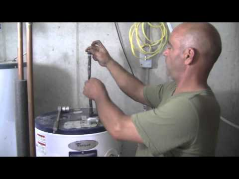 How To Replace The Anode Rod In Your Hot Water Heater.