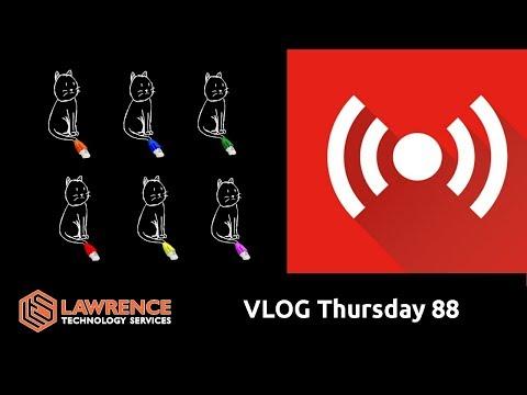 VLOG Thursday Episode 88 CAT 6 & Will Code Make My Stream Better?