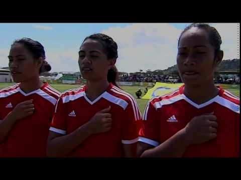 Pacific Games  2015 Football  Solomon Islands  vs Tonga (Women)