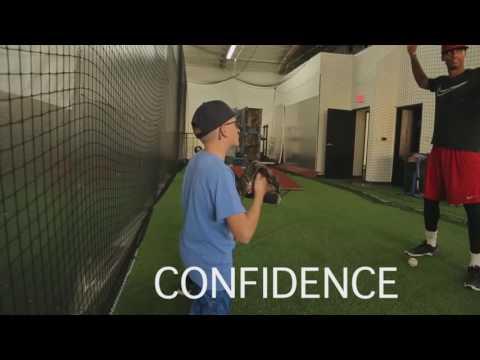 Chris Powell teaches pitching mechanics