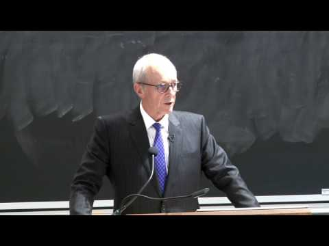 2017 Gross Lecture: Ontario Chief Justice Strathy (LLB '74)