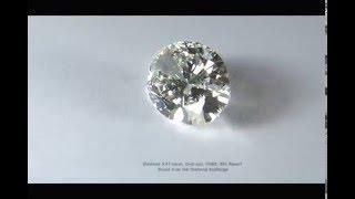 Diamond, 5.01 carat, Oval cut, I/VS2, Direct from the Diamond Exchange - 0155-15001