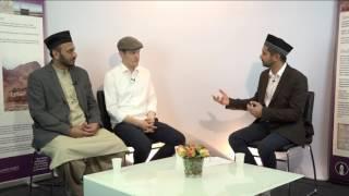 Interview with Sarmad Hannes Hübner and Imam Rizwan Afzal - 25th Jalsa Salana Sweden 2016 [Urdu]