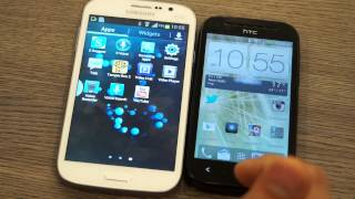 Samsung Galaxy Grand vs HTC Desire SV