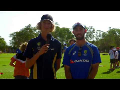 Cricket Australia - SEDA Student Interviews Glen Maxwell