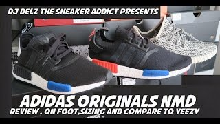 adidas NMD Boost Mesh Runner VS Primeknit VS Yeezy 350 Shoes Comparison Review + On Feet & Sizing