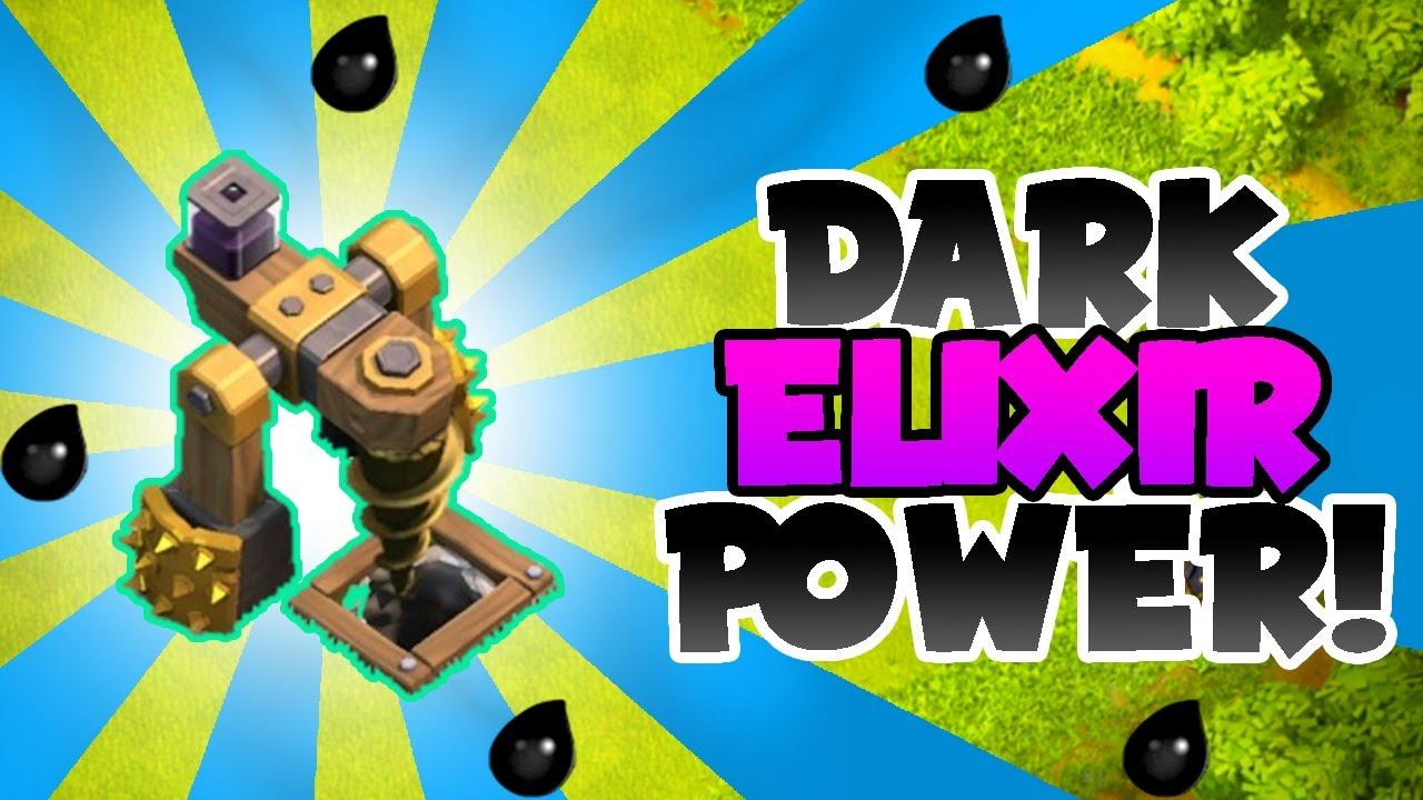Dark elixir drill boost - New Dark Elixir Drill Level Farming 1 Million Elixir In 2 Raids Clash Of Clans