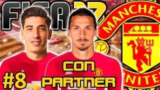 FIFA 17 Manchester United Modo Carrera #8 | CIERRE DE MERCADO Y EMPIEZA FA CUP | CON PARTNER