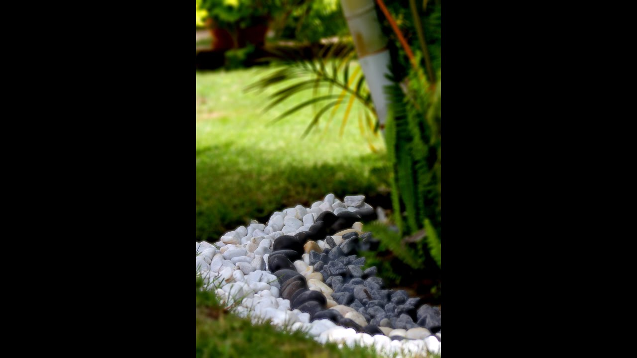 Landscape stones for gardens , outdoor areas , plant pots and ...