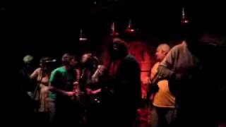 Circus of sound live @ Maker March 09 - Under mi Sensi (Sleng teng riddim) jam