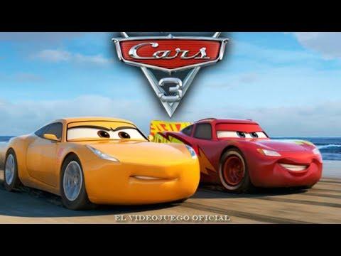 Cars 3 (2017) ESPAÑOL - Juego Completo de la PELICULA - Videojuegos infantiles Disney