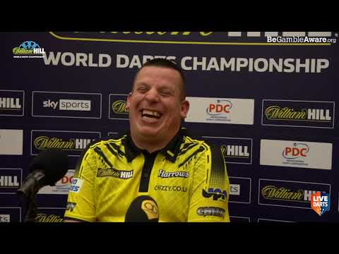 """Dave Chisnall on win over Keegan Brown: """"It wasn't brilliant but there's more to come"""""""