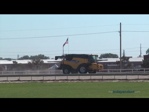 Free Combine Rides at the 2013 Nebraska State Fair