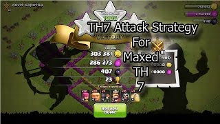 Clash Of Clans | Town Hall 7 Attack Strategy