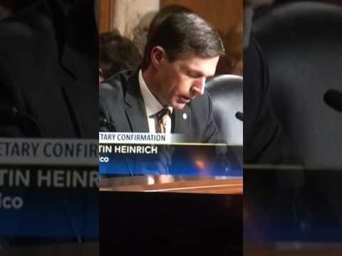 Senator Al Franken in smoky the bear
